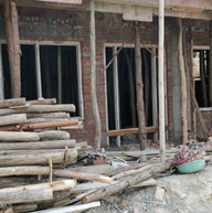A studio under construction.