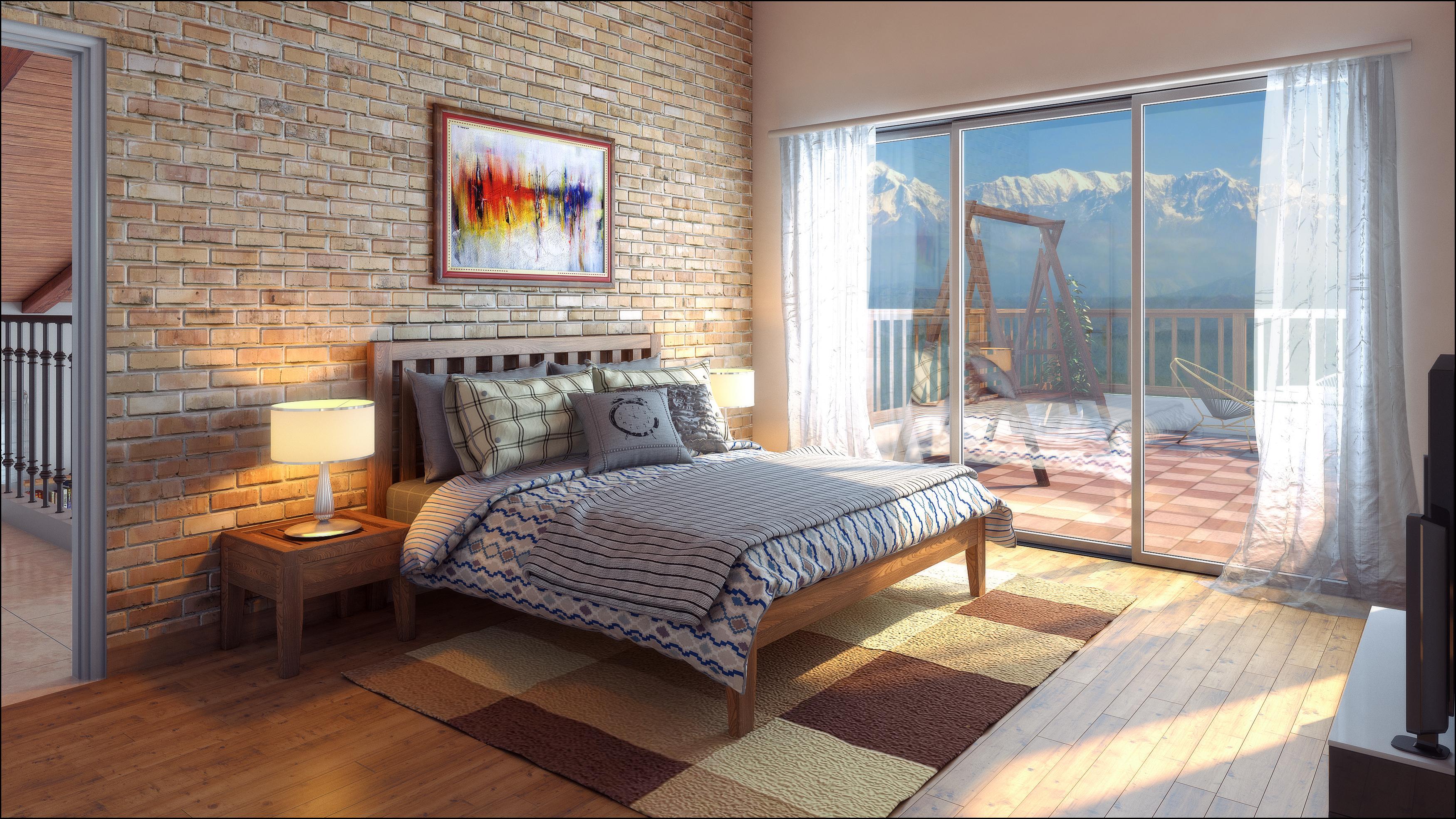 First Floor Bedroom.