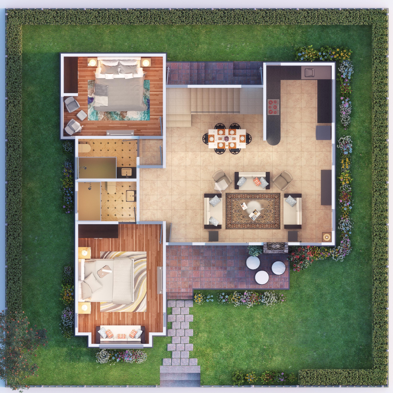 Floor Plan - Ground Floor.