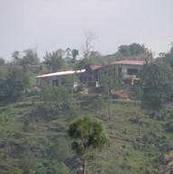 A cottage under construction