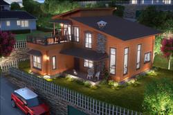 3 Bedroom Duplex in Russian Pinewood