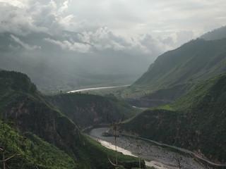 Kosi river cliffs