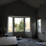 Interior cladding.