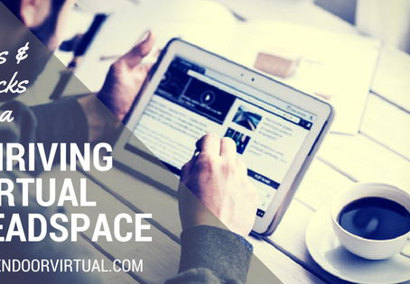 Tricks and Tools for a Thriving Virtual Biz Headspace