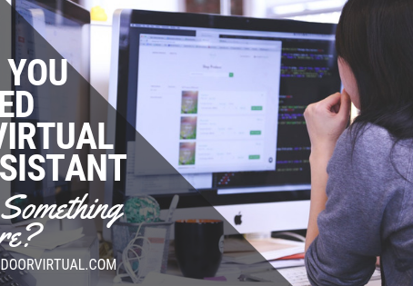 Do you Need a Virtual Assistant or Something More?