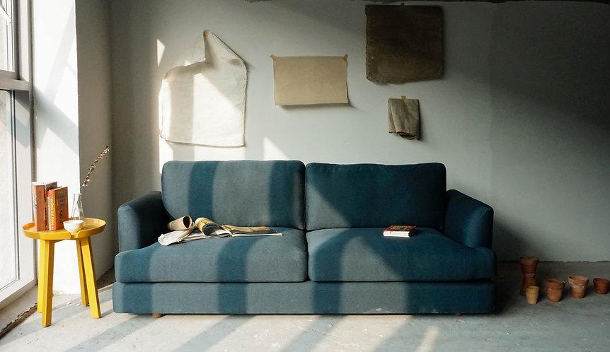 "SOFA ""SA MẠC BÍ ẨN"" 2M – Belgium fabric"