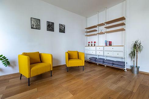 Pronájem prostor pro školení, workshopy, semináře, terapie Praha Břevnov