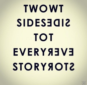 Two Sides and Two Stories