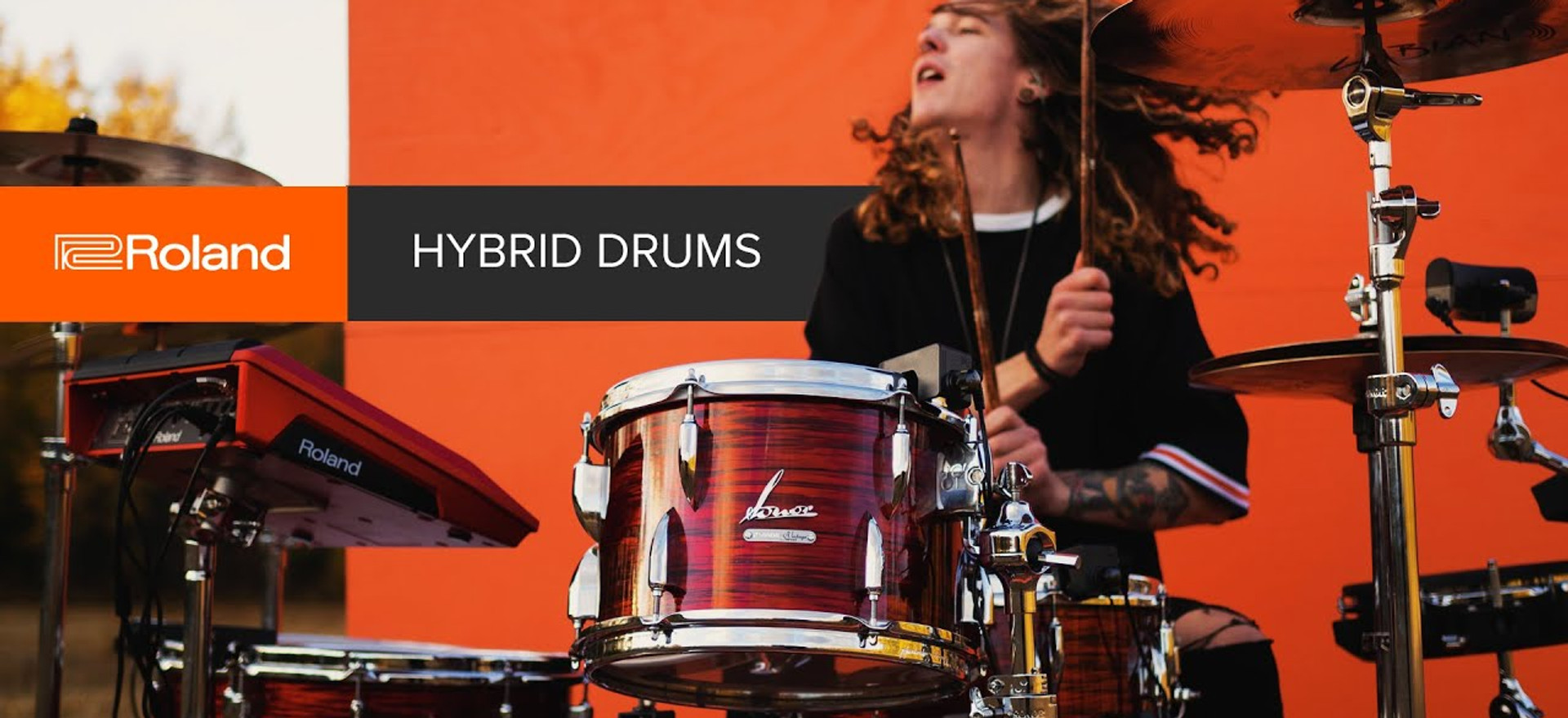 Roland Hybrid Drums: Your sound, no limits