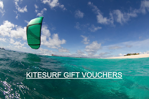 Kitesurf Gift E-Vouchers buy in multiples of £10