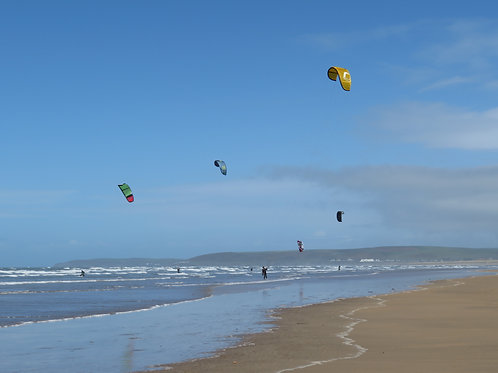 Croyde (maybe, depends on wind)  Kite Trip October 2020
