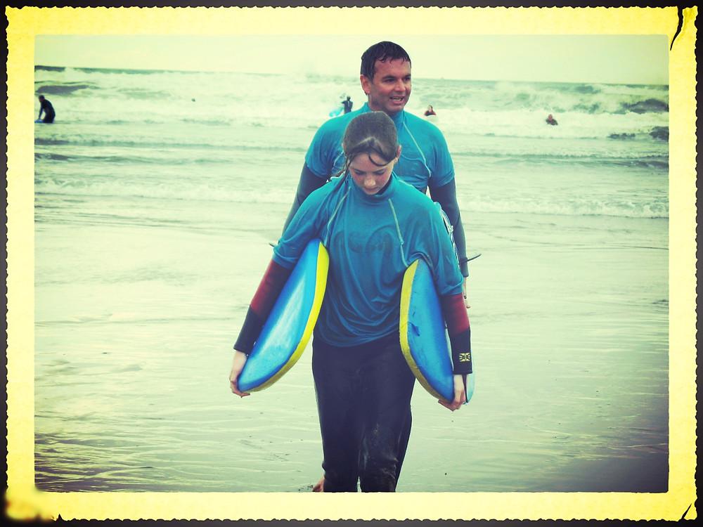 uncool surf dad