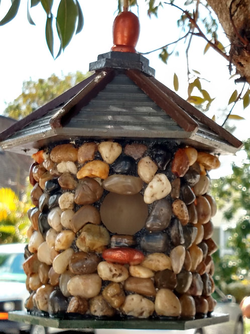 Field Stone Bird House
