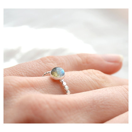 Labradorite Bobble Ring