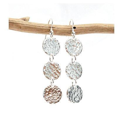 Triple Circle Earrings
