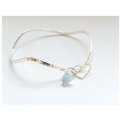 The Gwithian Wave Bangle
