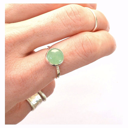10mm Green Aventurine Ring