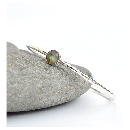 8 mm Labradorite Bangle