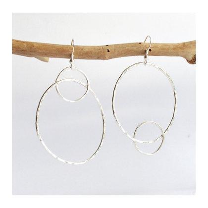 Interlocked Loop Earrings
