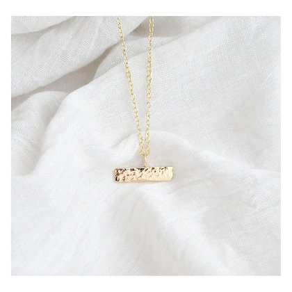 9ct Gold Bar Necklace
