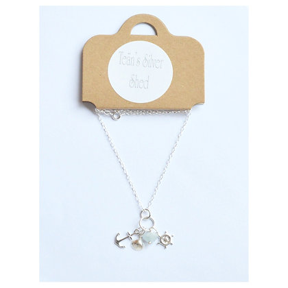 Ocean Themed Charm Necklace