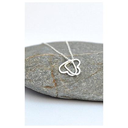 Interlocked Heart Necklace