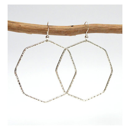 Octagonal Earrings