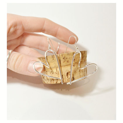 Loop of Love Earrings - Hooks