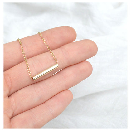 9ct Tube Necklace