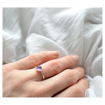 Amethyst Stacking Ring