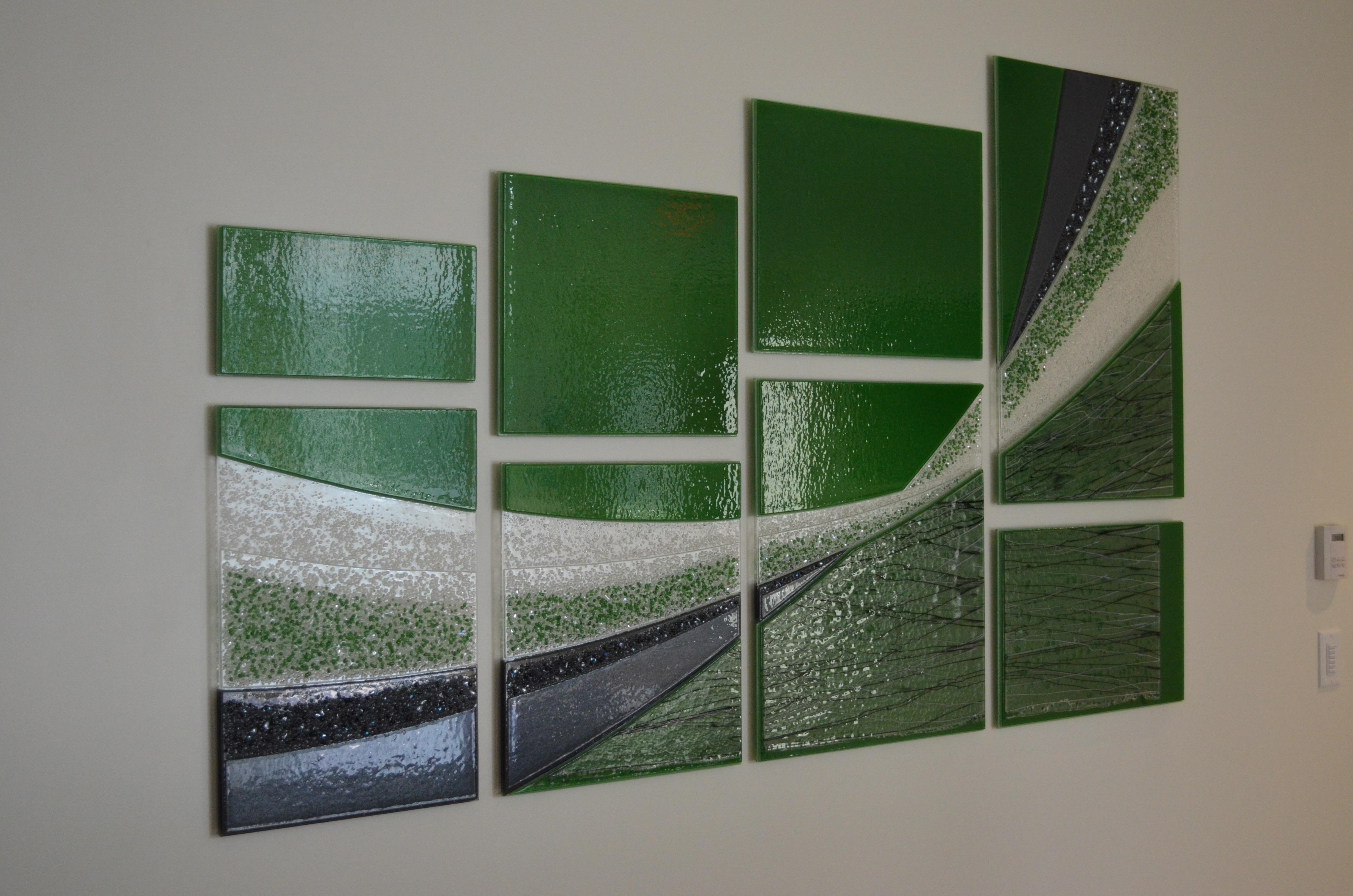 Olsson Associates Glass Art