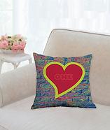 Graffitti Series pillow one love.jpg
