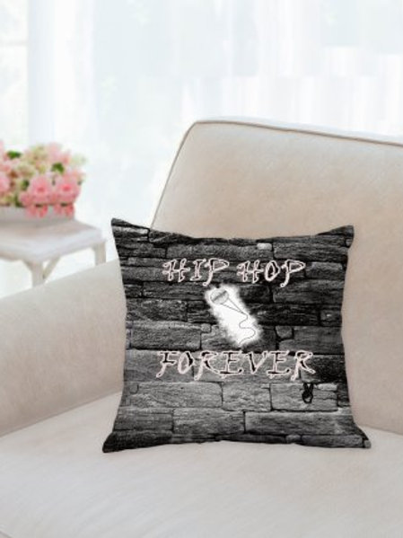 Graffiti Collection: Hip Hop Forever pillow