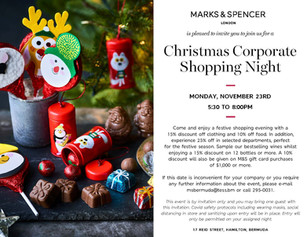 BPSU Members Private Shopping Night - Marks & Spencer