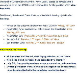 Bye-Election 2021 - 2nd Vice President