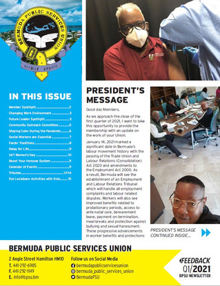 Feedback Newsletter Q1 2021