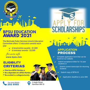 BPSU Education Award 2021