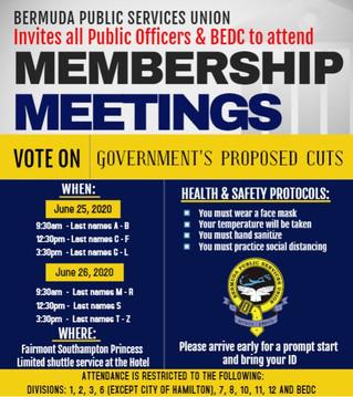 BPSU Membership Meeting