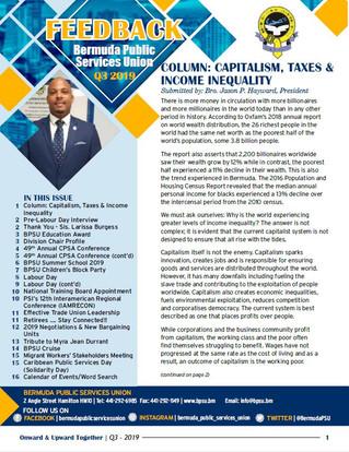 Q3 2019 BPSU Feedback Newsletter