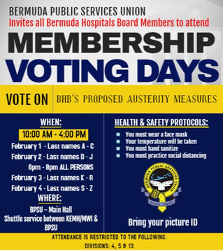 BHB Membership Voting Days