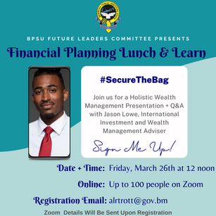 Financial Planning - Lunch & Learn
