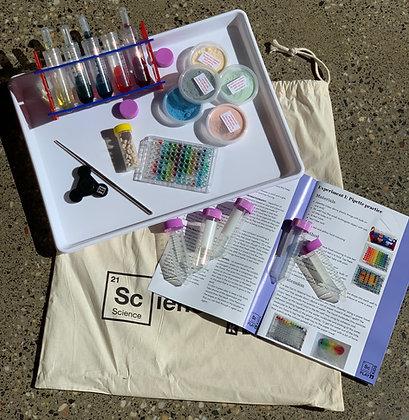 Science Kit 1: Experiments 1-10