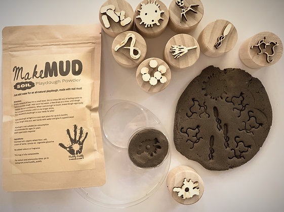 Microorganism and Mud playdoh set