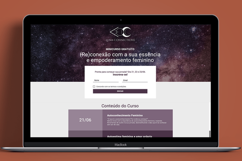 Landing Page Luna Conennections