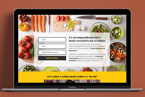 Landing Page Uma Chef em Casa