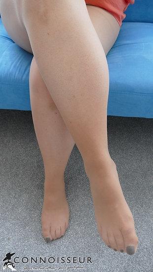 15 Denier Micro Tulle Light Tan