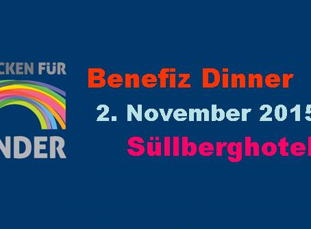 Benefiz Dinner im Süllberghotel