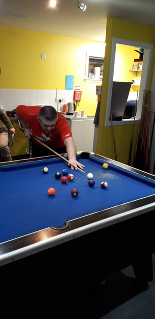 Improve your Pool skills at the Well