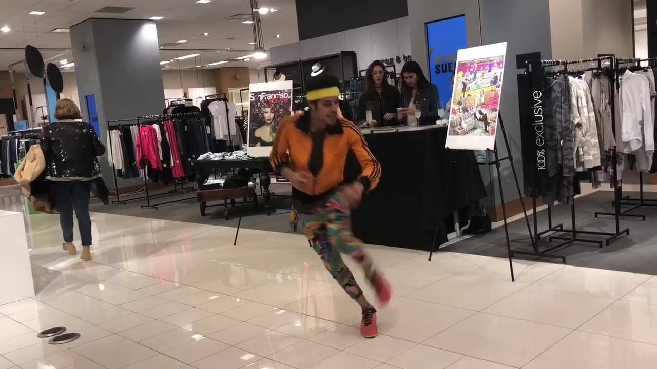 Break Dancer Prince Xzist