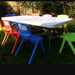 silla de colores firmes $1.000